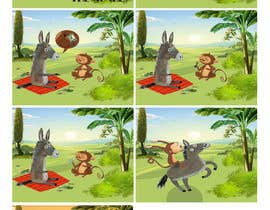 nº 17 pour Illustrate and layout Children's story par elnazheidary