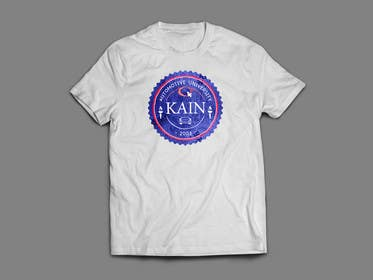 #24 cho Design for a t-shirt for Kain University using our current logo in a distressed look bởi freelancingvs