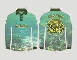 #75 untuk T-Shirt Design (Fishing Shirt) oleh antlerhook