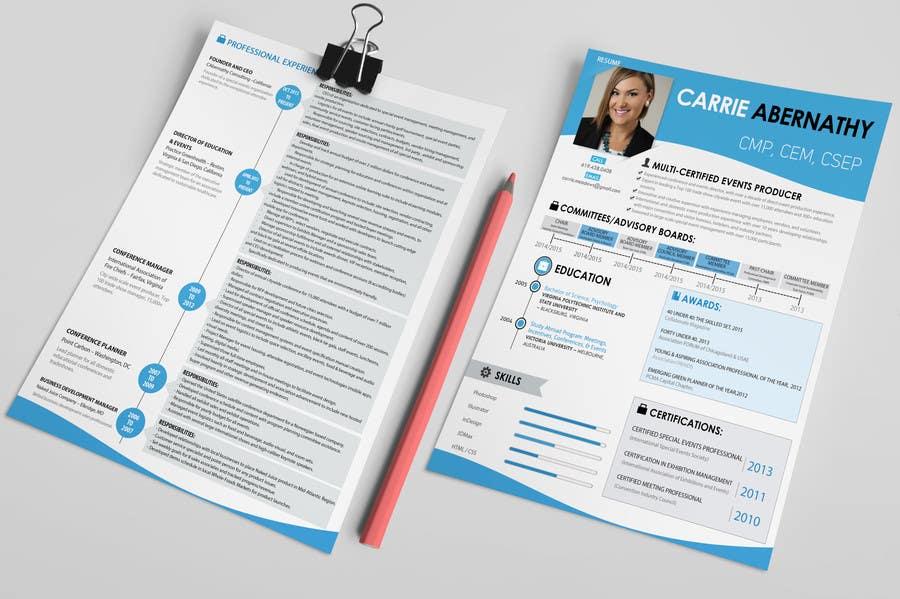Konkurrenceindlæg #                                        19                                      for                                         Interesting Resume Design