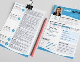 #19 para Interesting Resume Design por resumedesigner