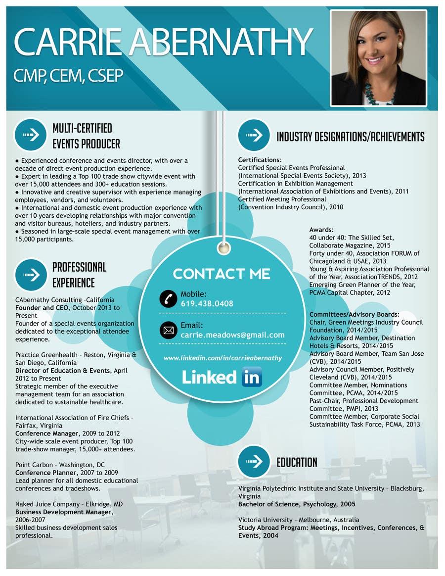 Konkurrenceindlæg #                                        9                                      for                                         Interesting Resume Design