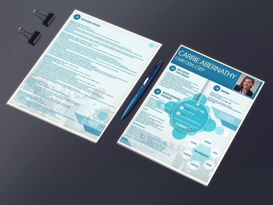 Participación en el concurso Nro.                                        20                                      para                                         Interesting Resume Design