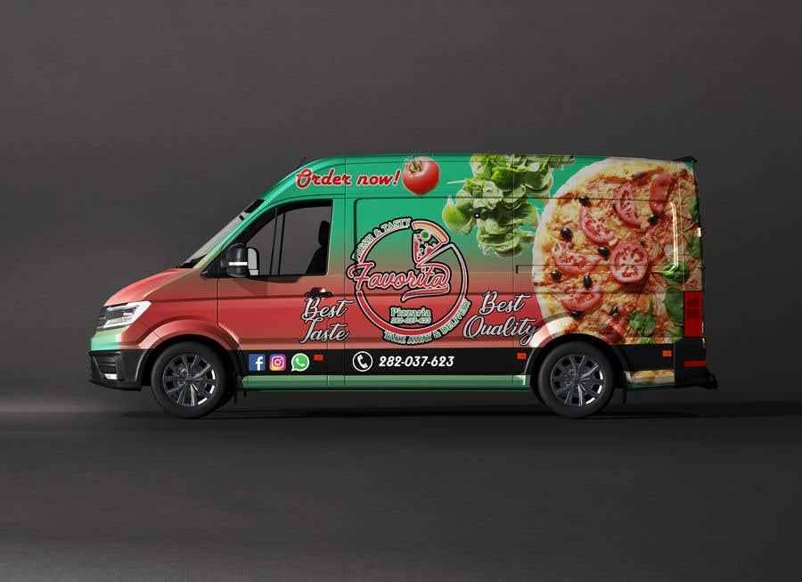 Proposition n°                                        45                                      du concours                                         build a pizza restaurant desing in a car