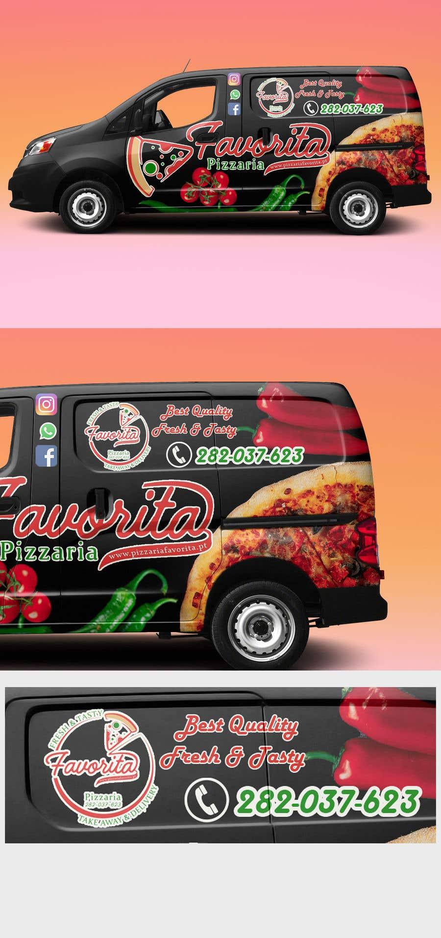Proposition n°                                        47                                      du concours                                         build a pizza restaurant desing in a car