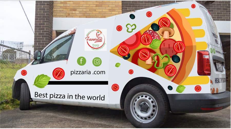 Proposition n°                                        38                                      du concours                                         build a pizza restaurant desing in a car