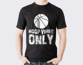 #71 cho I would like to Change words to HOOP VIBES ONLY in the same font pattern it is already. Remove the skull and flowers and add a basketball where the skull is over the letters.. i would like it in black and white for sure.. bởi rayhanshawkat199