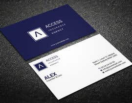 """#42 for Need a 2"""" x 3.5"""" Standard business card design af techatiq378"""