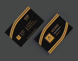 """#46 for Need a 2"""" x 3.5"""" Standard business card design af Ziaul19"""