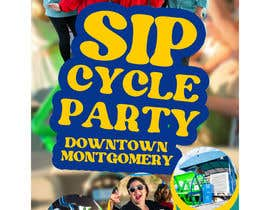 #78 for Sip-n-Cycle Flyer 2 by webcreadia