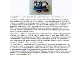 #7 for Write an article for me about mobile robots by musfirahj30