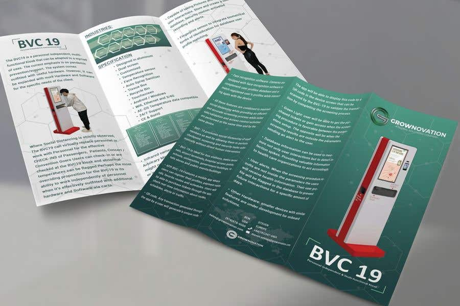 "Konkurrenceindlæg #                                        6                                      for                                         Design of one page brochure: Tri Fold 8.5"" x 11"""