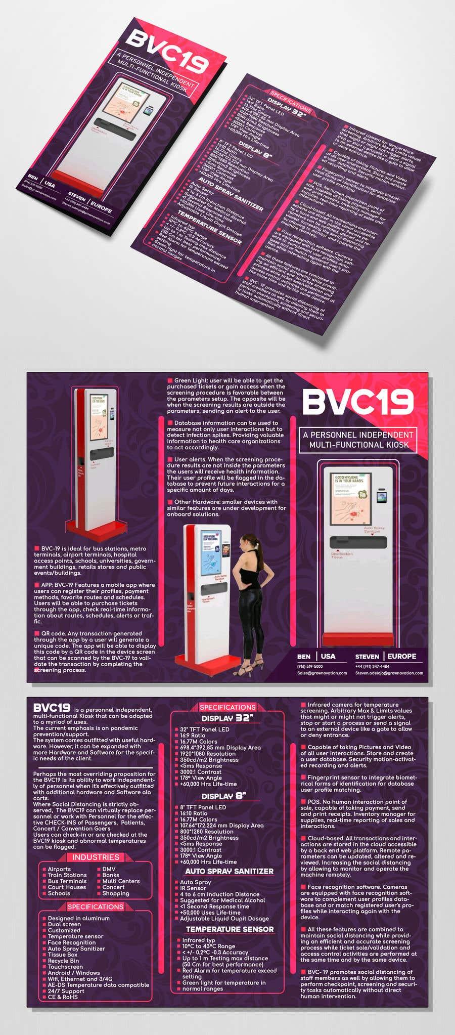"Konkurrenceindlæg #                                        7                                      for                                         Design of one page brochure: Tri Fold 8.5"" x 11"""