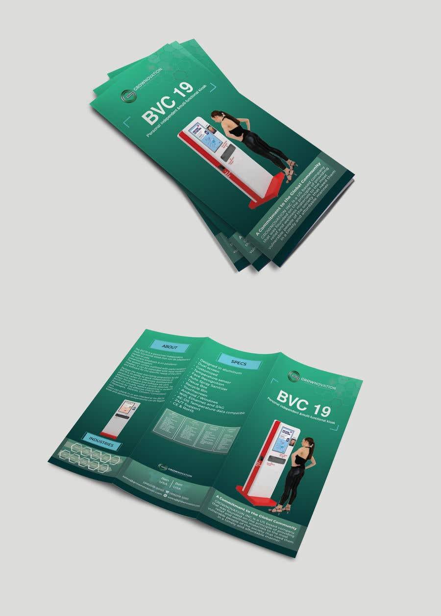 "Konkurrenceindlæg #                                        3                                      for                                         Design of one page brochure: Tri Fold 8.5"" x 11"""