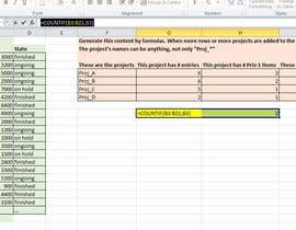 kkhurram tarafından Create some formulas for a simple Excel sheet için no 23