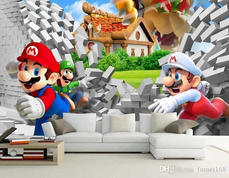 Penyertaan Peraduan #                                        7                                      untuk                                         Build a wall design for my house - Mario bross as an example