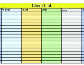 #20 for Excel spread sheet needed af hanifarrivoltd