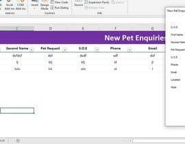 #17 for Excel spread sheet needed af imfarrukh47