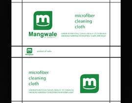#24 cho Artwork for packing cleaning cloth bởi ji3553894