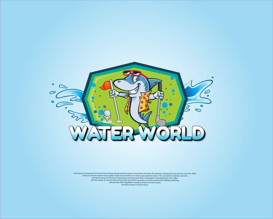 Contest Entry #                                        277                                      for                                         LOGO - Underwater Theme Mini Golf