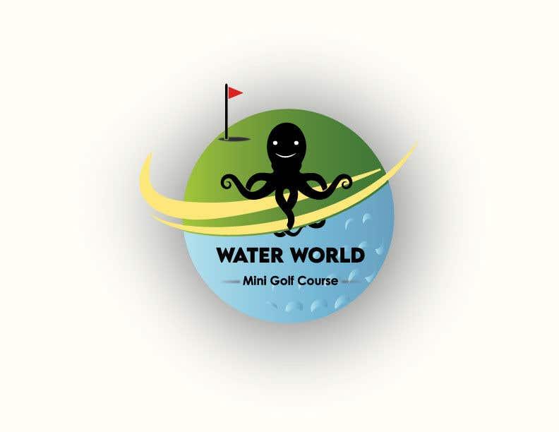 Contest Entry #                                        55                                      for                                         LOGO - Underwater Theme Mini Golf