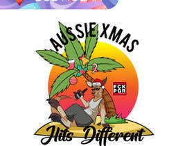 #79 for Design a stoner Kangaroo on the beach Christmas T-Shirt by BobNolan99