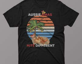 #48 for Design a stoner Kangaroo on the beach Christmas T-Shirt by JunaidIslam1
