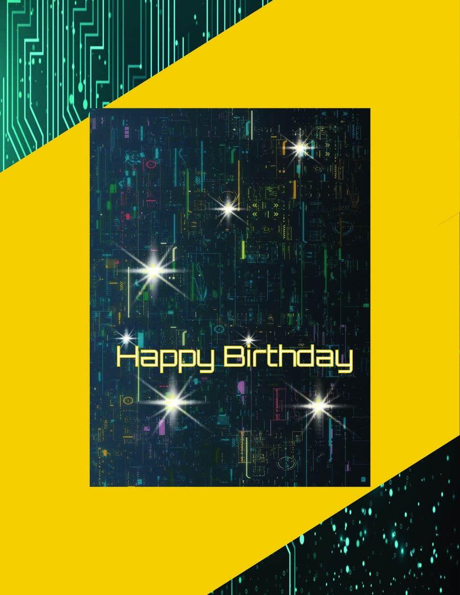 Konkurrenceindlæg #                                        110                                      for                                         Birthday Card design