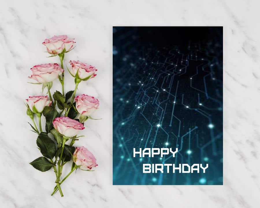 Konkurrenceindlæg #                                        98                                      for                                         Birthday Card design