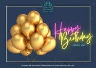 Graphic Design Konkurrenceindlæg #61 for Birthday Card design