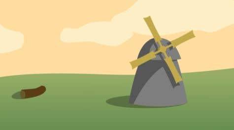 Bài tham dự cuộc thi #                                        17                                      cho                                         Illustrate and Animate Original Old-Fashioned Windmill