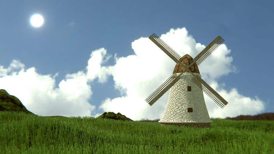 Bài tham dự cuộc thi #                                        20                                      cho                                         Illustrate and Animate Original Old-Fashioned Windmill
