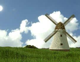 #20 untuk Illustrate and Animate Original Old-Fashioned Windmill oleh GatoCangrejo
