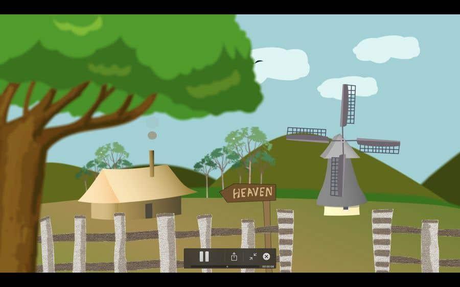 Bài tham dự cuộc thi #                                        22                                      cho                                         Illustrate and Animate Original Old-Fashioned Windmill