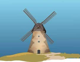 #15 cho Illustrate and Animate Original Old-Fashioned Windmill bởi skkribbler