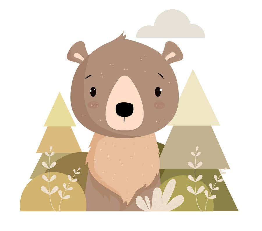 Contest Entry #                                        13                                      for                                         Cute bear vector illustration