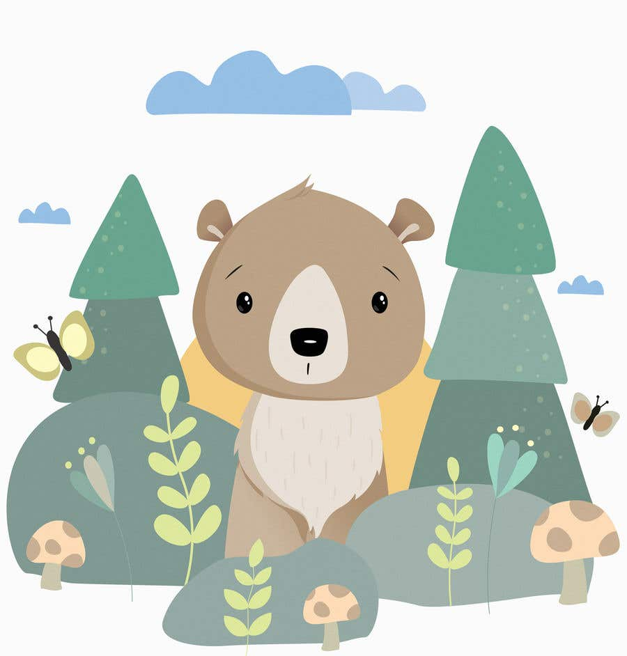 Contest Entry #                                        38                                      for                                         Cute bear vector illustration