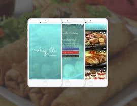 #14 untuk Anguilla Cuisine App UI Mockup oleh zolcsaktamas