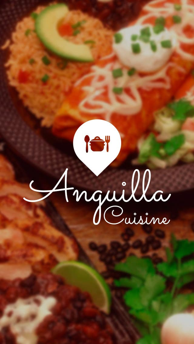 Contest Entry #                                        4                                      for                                         Anguilla Cuisine App UI Mockup