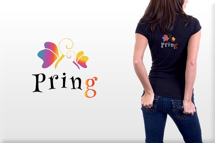 Konkurrenceindlæg #17 for Logo Design for Pring