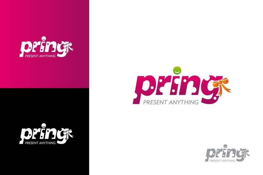 Konkurrenceindlæg #105 for Logo Design for Pring