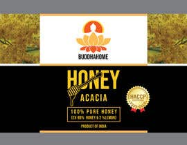 #106 for Honey Label Designing Contest af Swoponsign