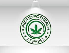 #240 for Proud Pothead Apparel - Logo and graphic designs af Tmahedi11