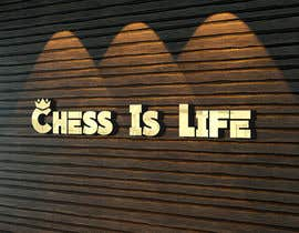 #1174 for Design a logo for 'Chess Is Life' af MoElnhas