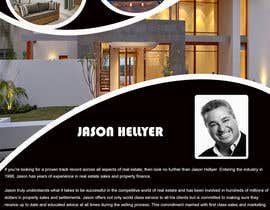 #16 para Design a Flyer for Real Estate Agent de knightGFX