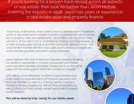 #6 para Design a Flyer for Real Estate Agent de codegur