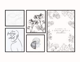 #10 untuk Create a Poster Set / Black and White oleh madamalice