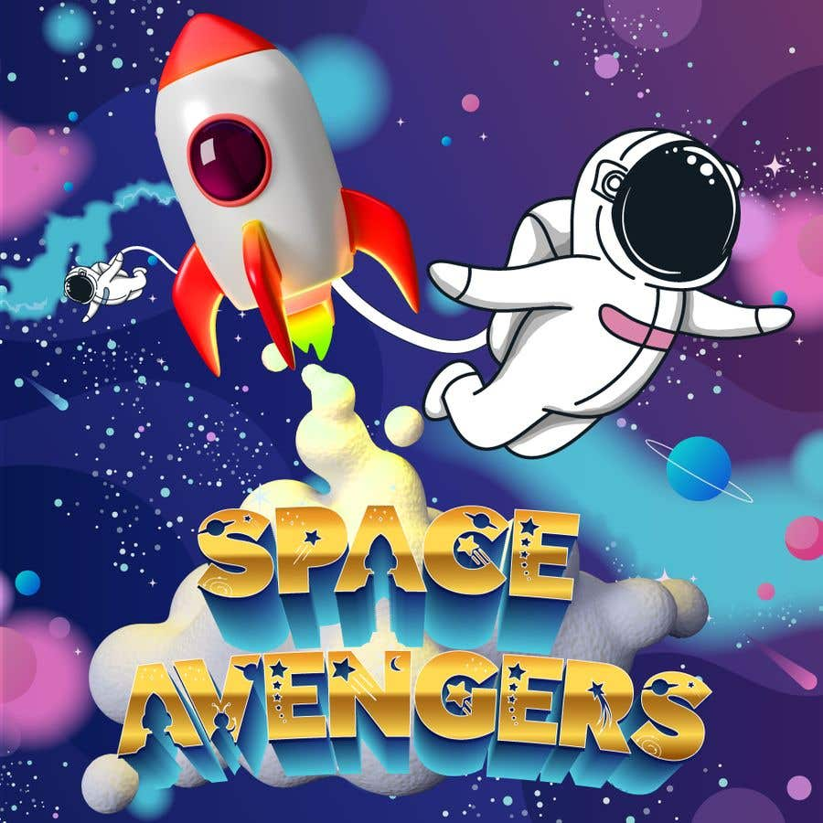 Konkurrenceindlæg #                                        34                                      for                                         Create icon for Space Avengers (Roblox game - 512x512 image - 3D rendered)