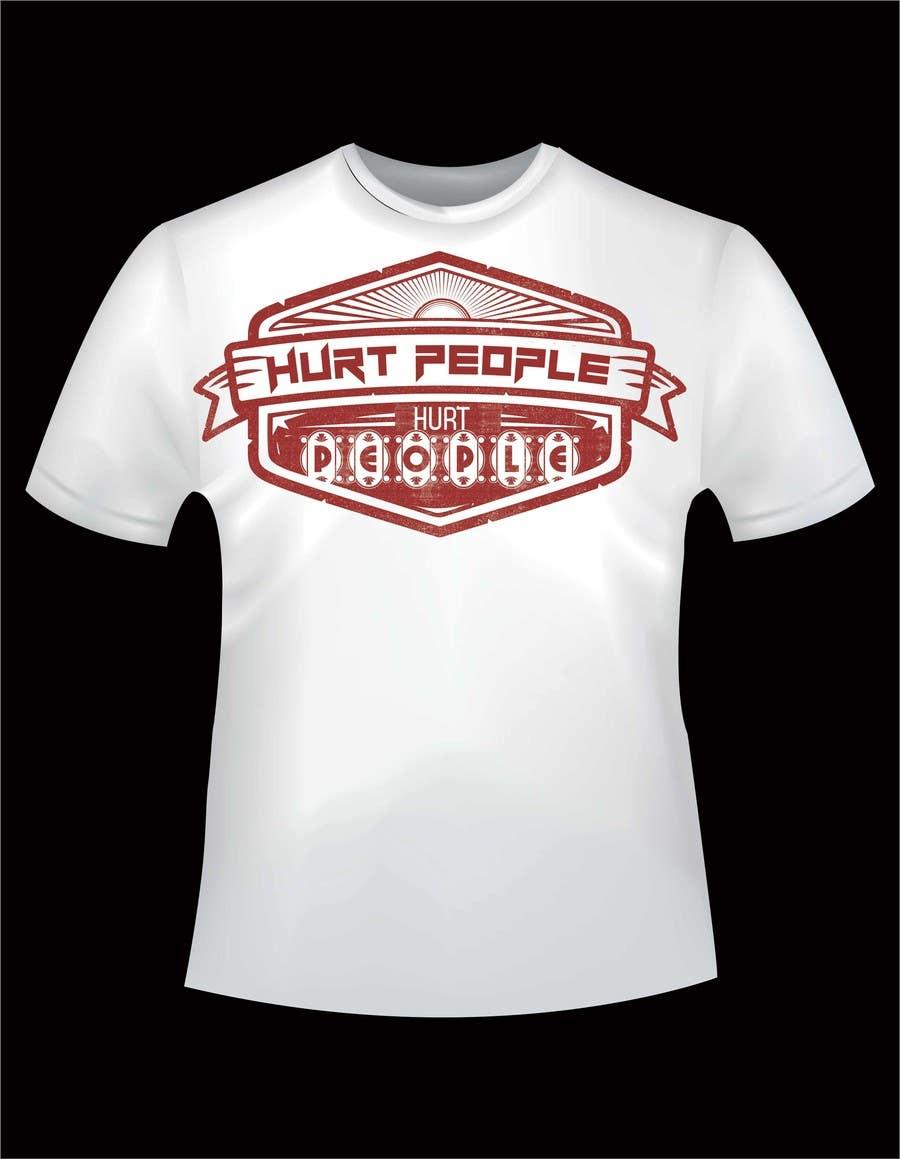 Participación en el concurso Nro.48 para Design a T-Shirt for HURT PEOPLE
