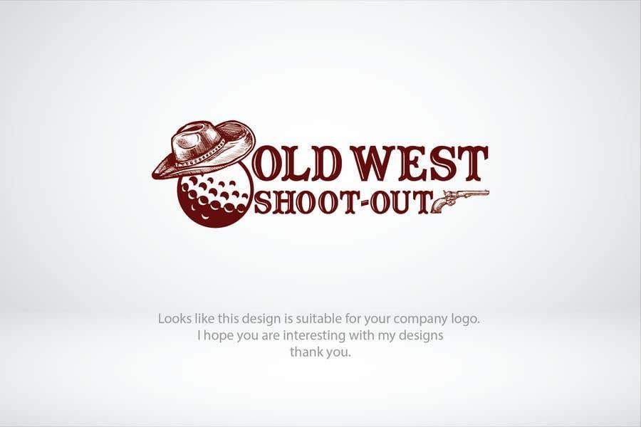 Kilpailutyö #                                        214                                      kilpailussa                                         LOGO -  Western Theme Mini Golf